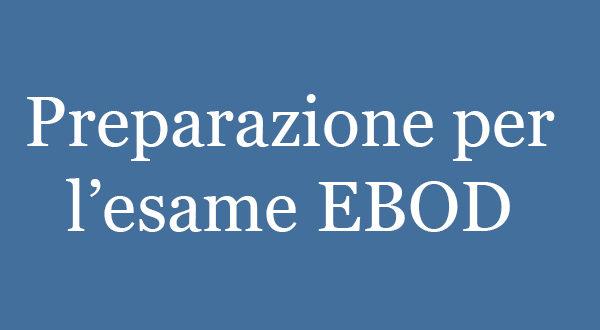 preparazione-esame-EBOD-Logo